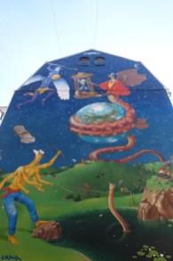 Time for change Kiev mural