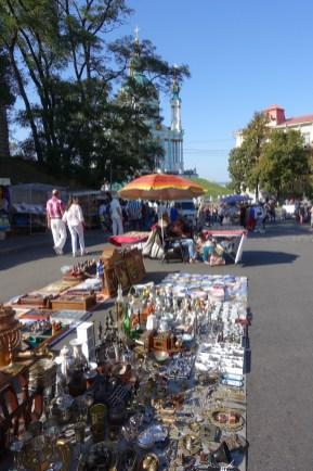 Andreyevsky Uzviz market