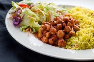 Radharane vegan dish