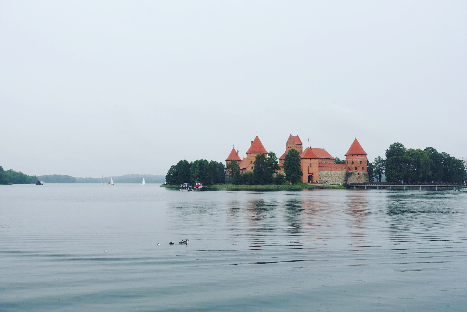 Visiting Trakai Castle in Lithuania
