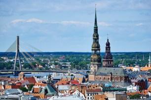 Views over Riga