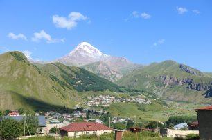 Kazbegi Gergeti Glacier