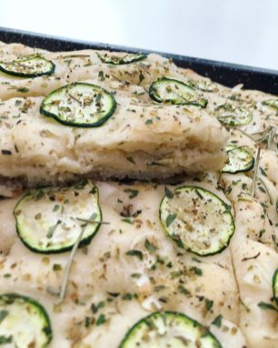 Vegan focaccia bread recipe