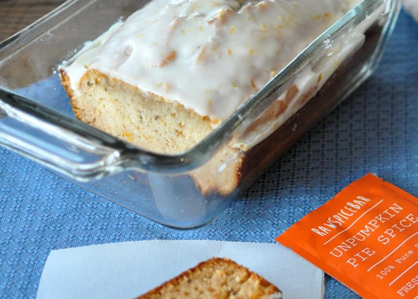 Orange Ginger Quick Bread