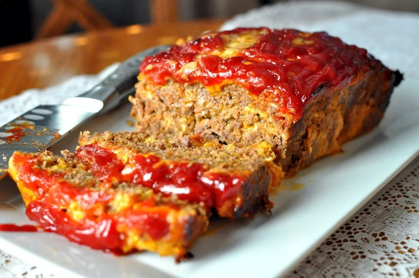 no veggie meatloaf with cheese