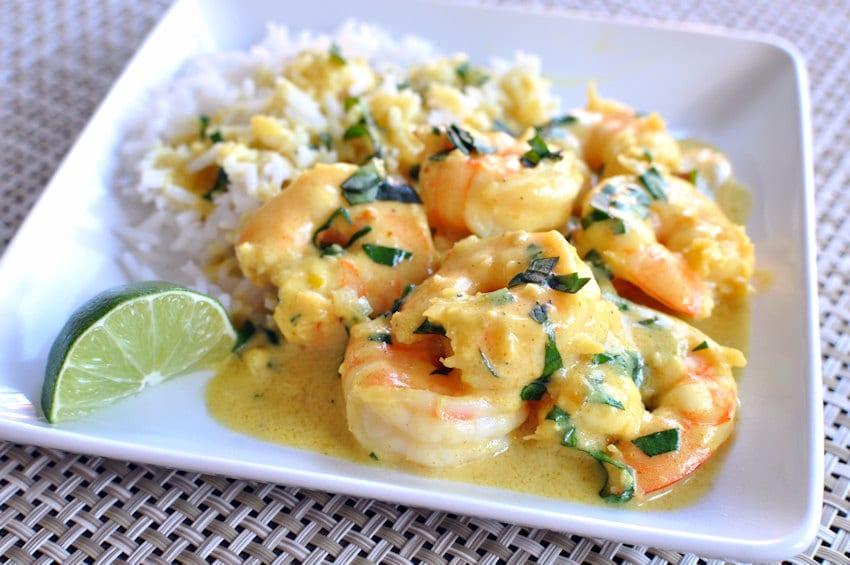 Simple Shrimp Curry