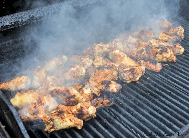 Grilled Chicken Wings - A Step by Step Guide