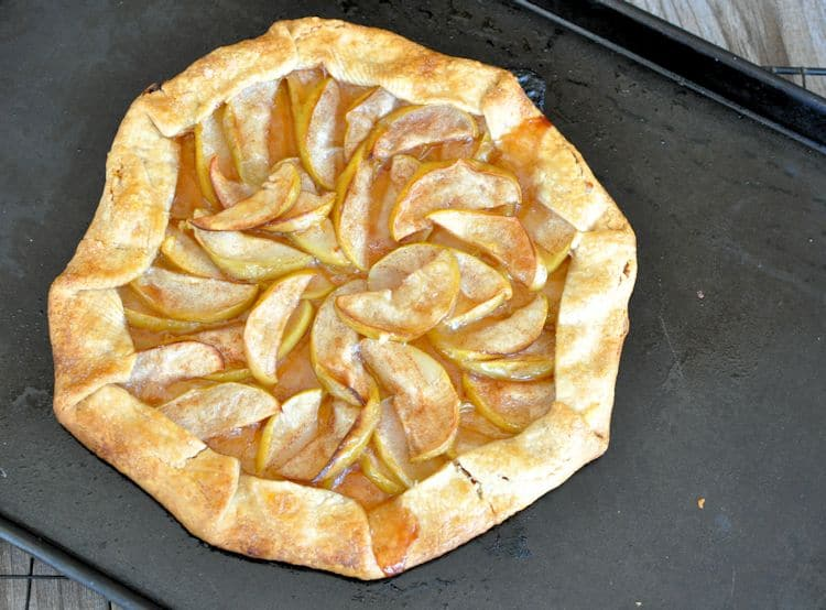 Super Simple Apple Galette 6
