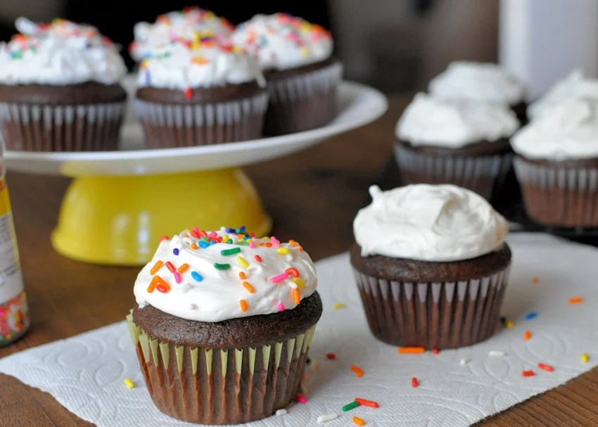 Simply Delicious Chocolate Cupcakes