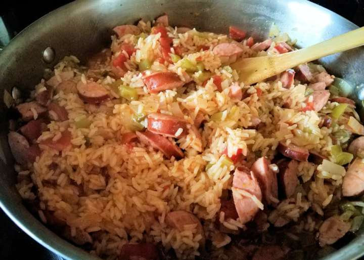 Easy Smoked Sausage Jambalaya
