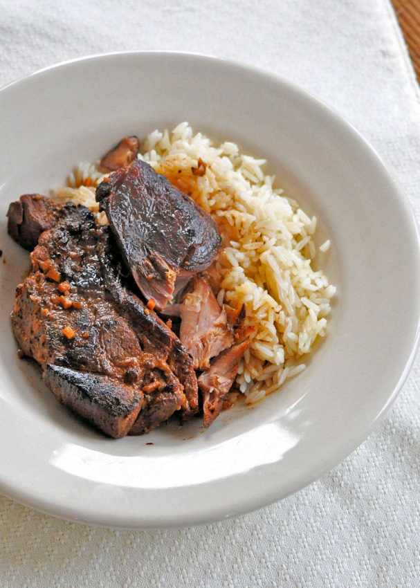 Asian Country-Style Pork Ribs (Slow Cooker)