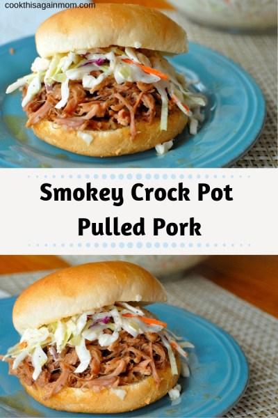 Smokey Crock Pot Pulled Pork