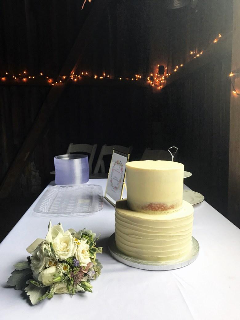 wedding cake ready to decorate
