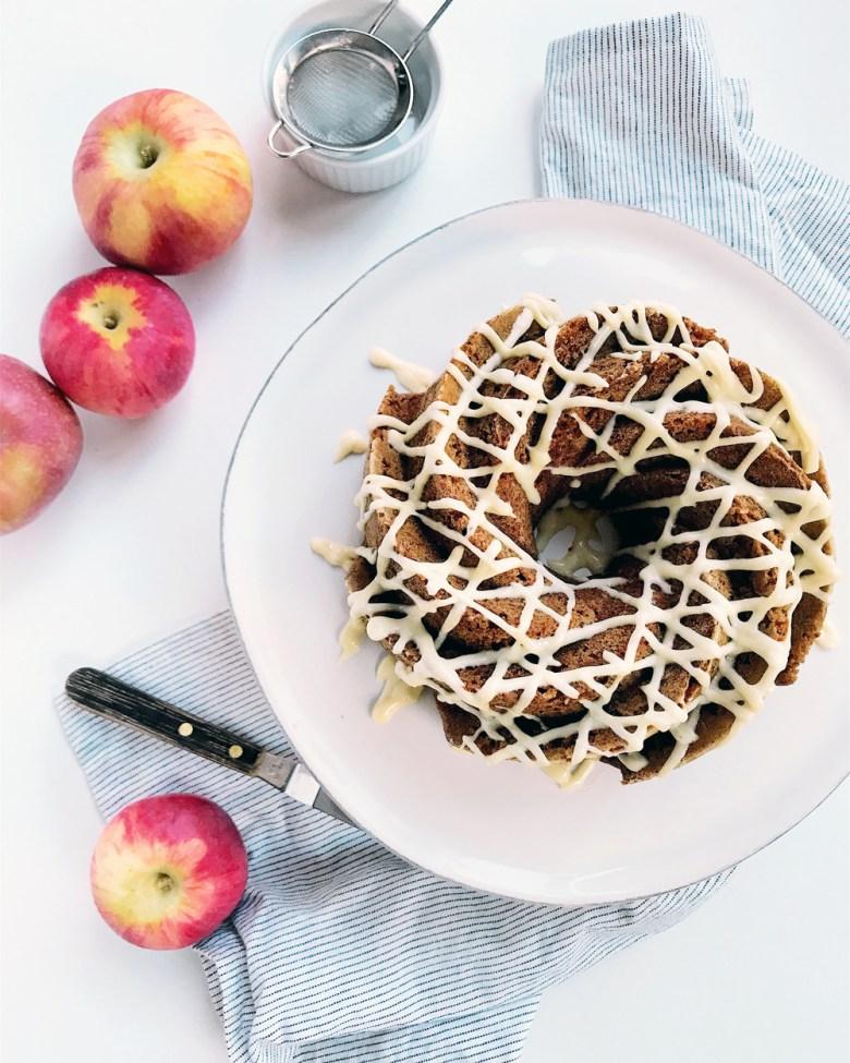 apple butter bundt cake