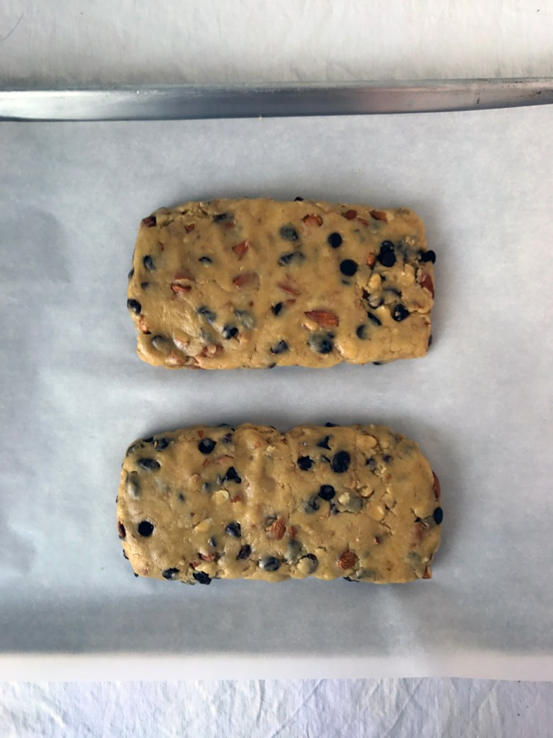 biscotti logs unbaked