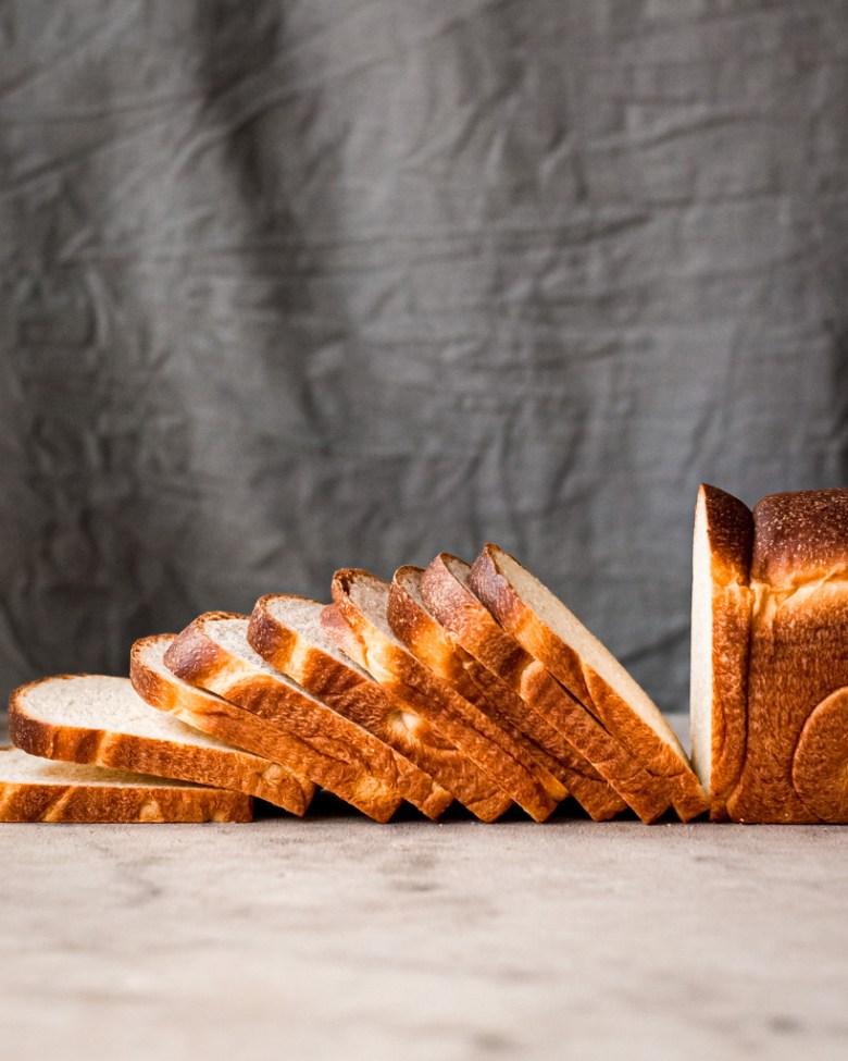sliced sourdough sandwich bread