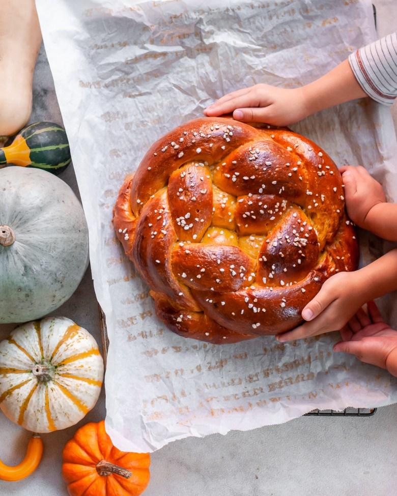pumpkin challah