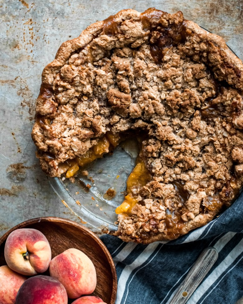 fruit streusel pie