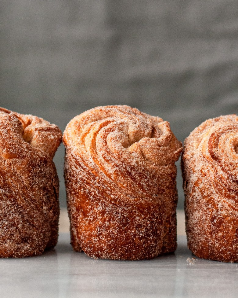 sourdough enriched cruffins