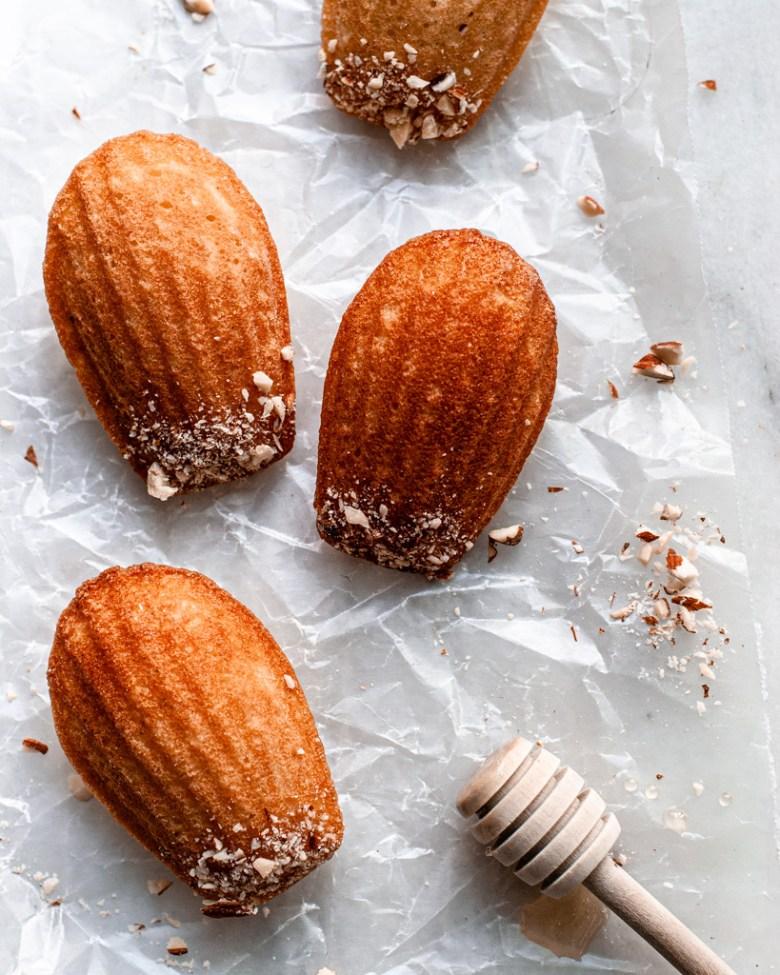 nut madeleines
