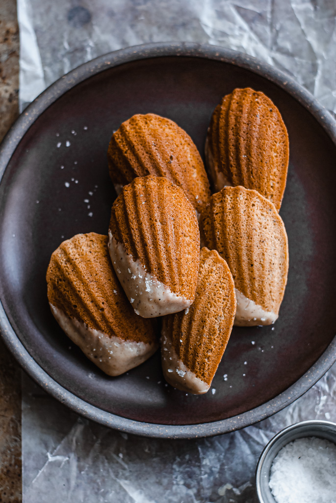 apple cider madeleines