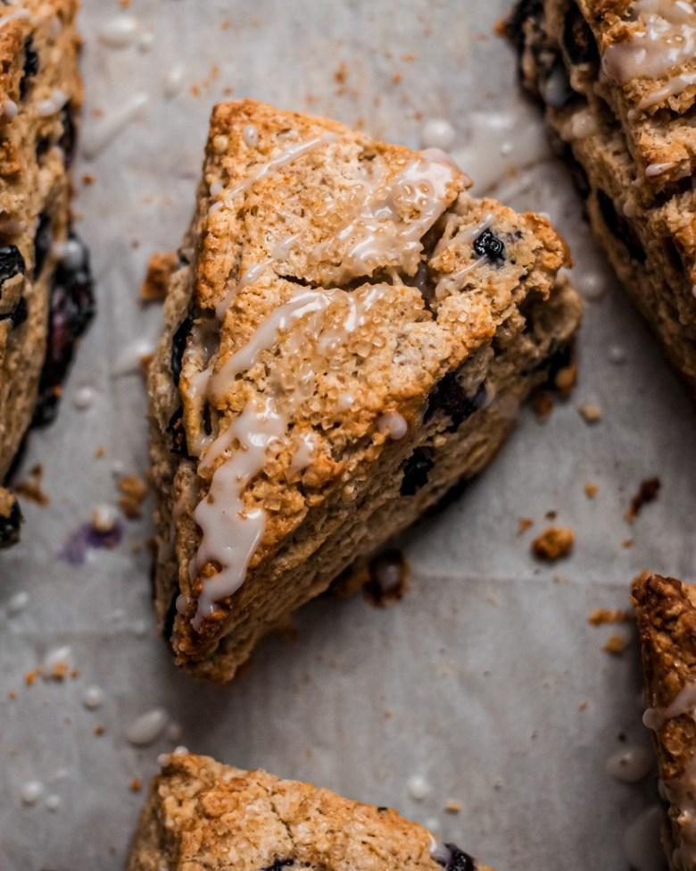 blueberry rye scone