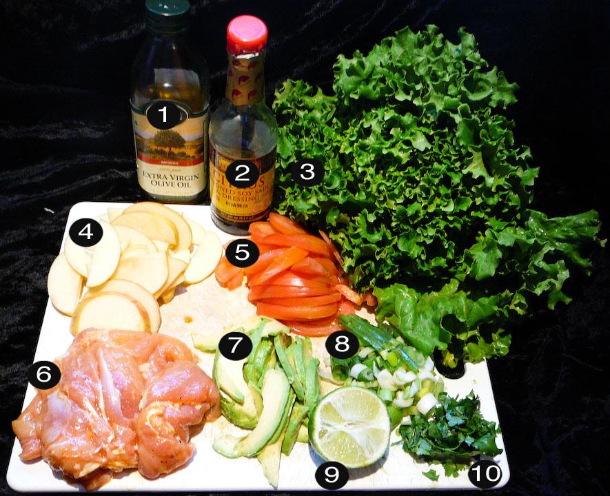 grilled-chicken-salad-prep