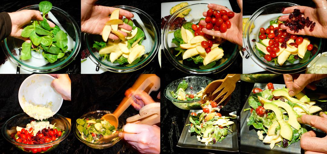 roquefort-salad-mix