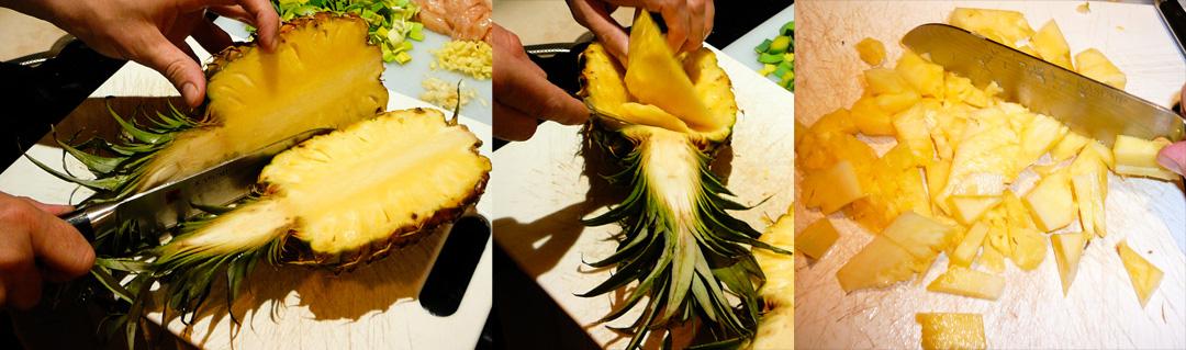 pineapple-rice-pineapple