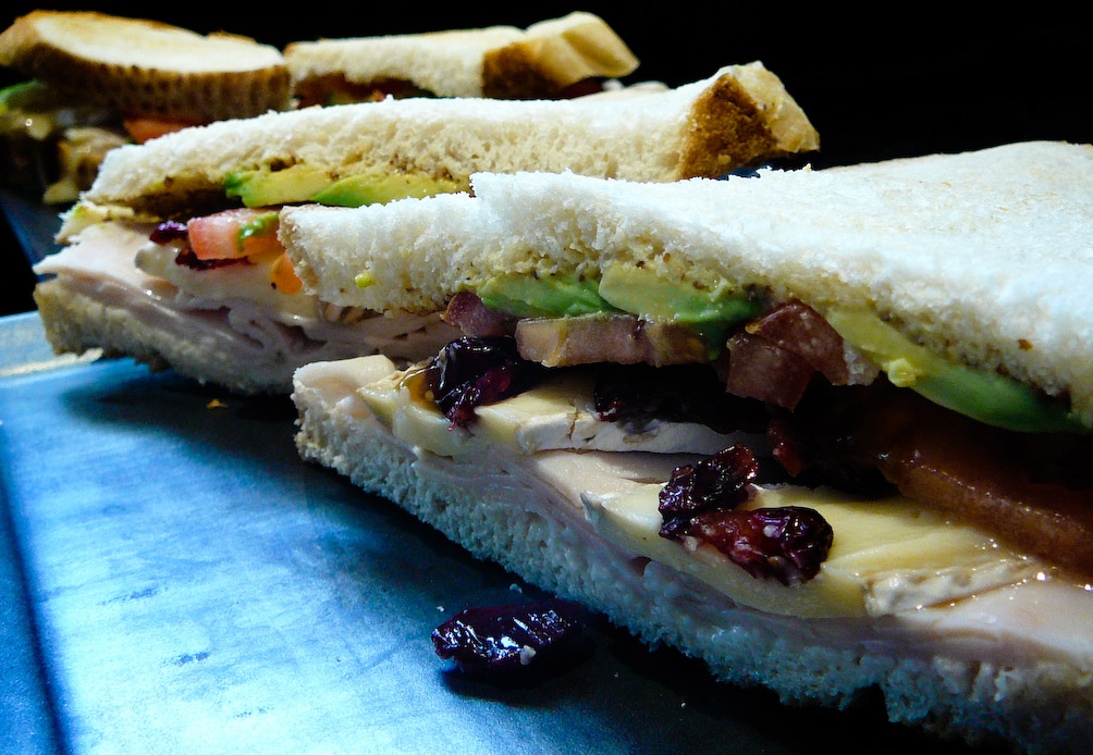 Flirty, dirty and wordy.  This sandwich offers all manners of sinful delights.