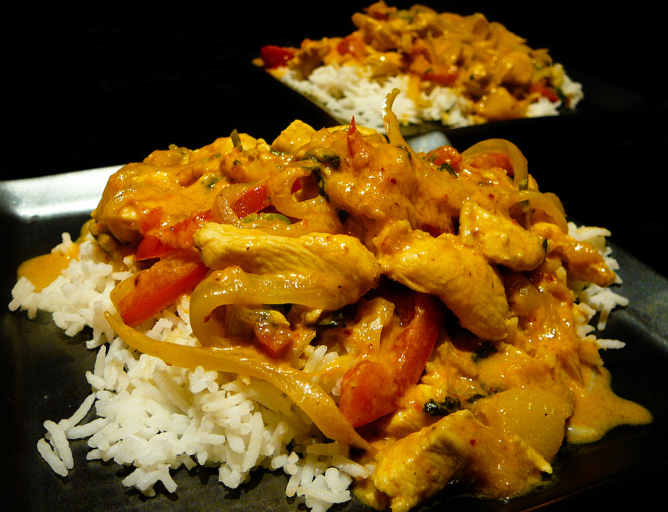 This chicken curry will inspire you to bango like the tango.