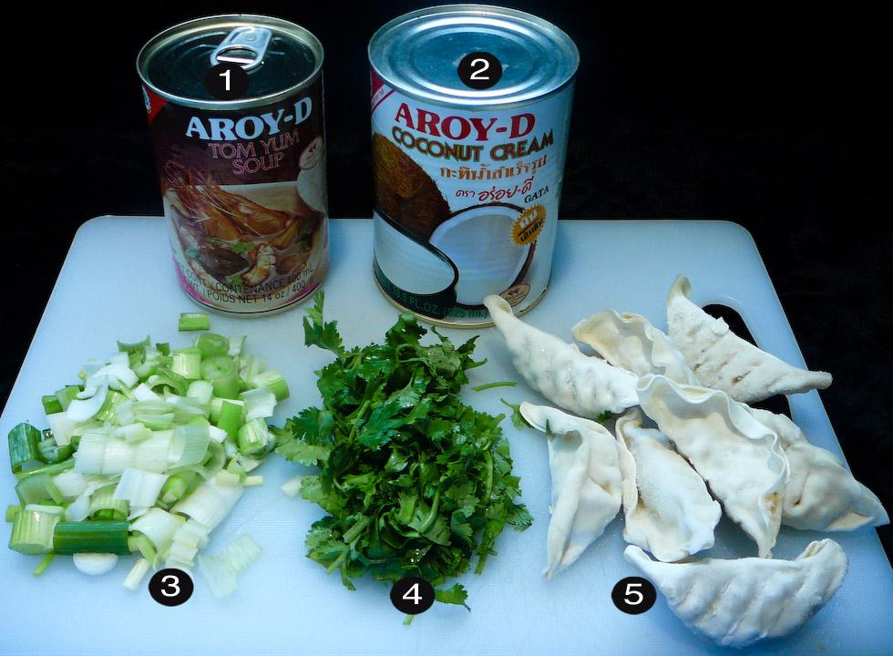 random thai soup prep
