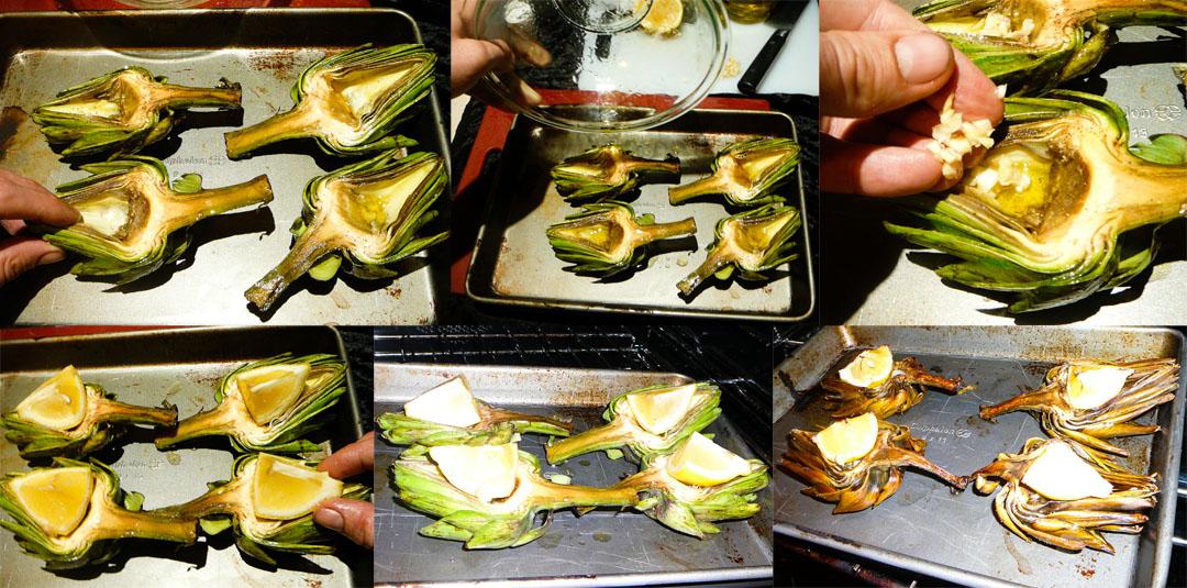 roast artichoke roast