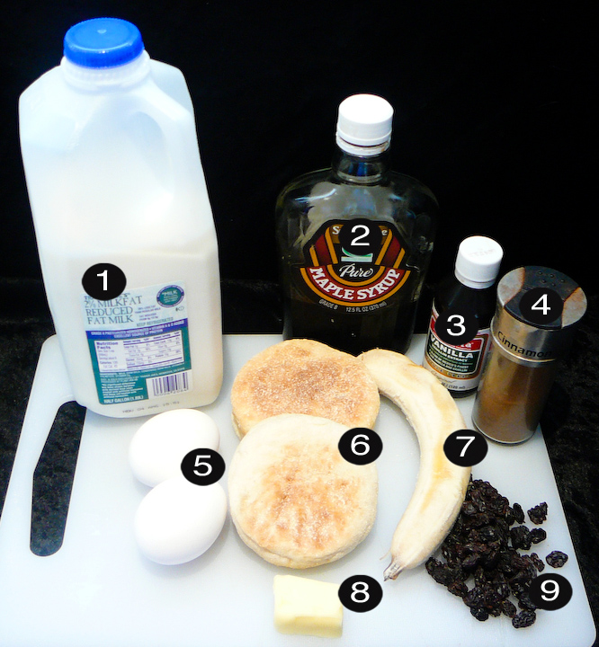 frenching your english muffin prep