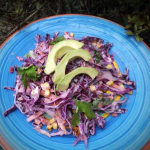 Mexican-style coleslaw