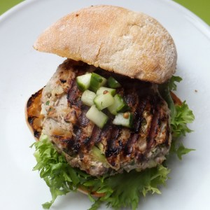Turkey and apple burgers