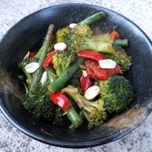 Thai broccoli and green beans