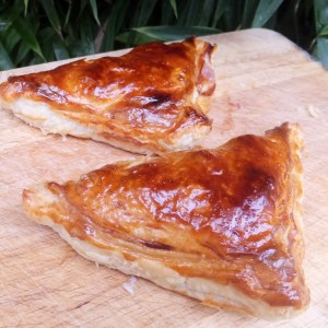 Grape & fig turnovers