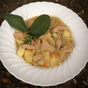 Veal and potato stew