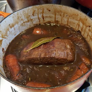 Silverside Beef with Onion Gravy