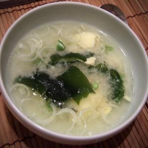 Japanese egg drop soup