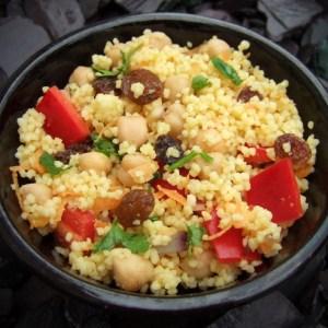 Spiced couscous salad