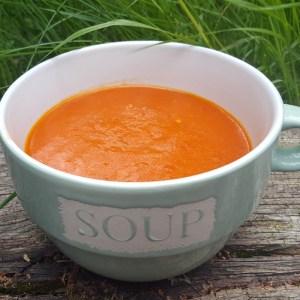 Spicy Tomato & Pepper Soup