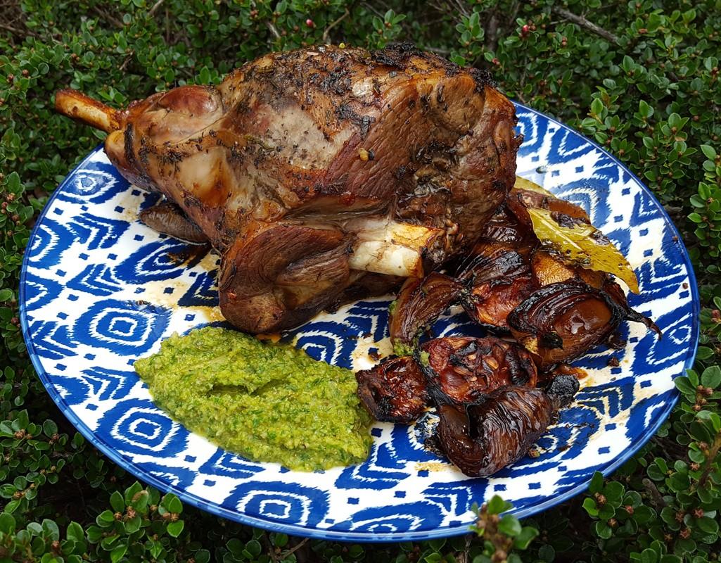 Herby Roast Lamb