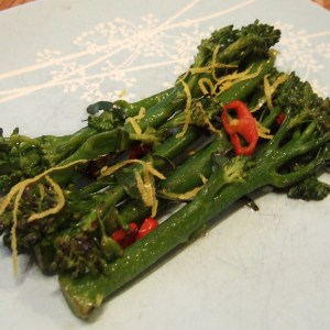 Zesty tenderstem broccoli