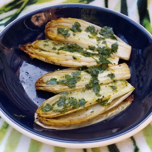 Zesty roast chicory