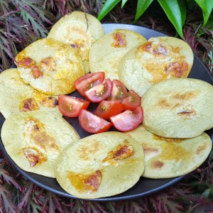 Chorizo pancakes