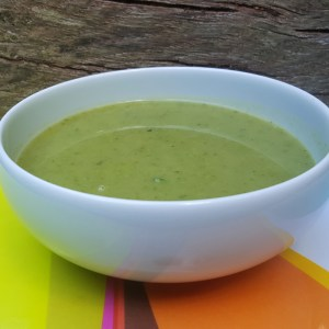 Lettuce and Pea Soup