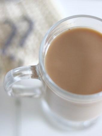 Iced Peppermint Tea Latte