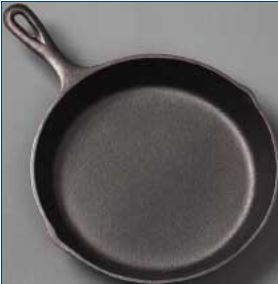 Cast iron skillet example